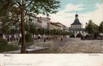 Ehem. kurfürstliches Schloss vom Kaiserplatz, Heliochromdruck um 1910, Bildnummer: bbv_00366