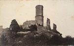 Die Godesburg, Fotografie von 1891, Bildnummer: bbv_00140