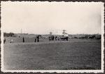 Hubschrauberlandeplatz am Römerbad, Fotografie von 1950, Bildnummer: bbv_01210