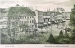 Münsterplatz um 1900, Bildnummer: bbv_00669