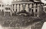 Altes Rathaus bei der Befreiungsfeier am 1.2.1926, Bildnummer: bbv_00233