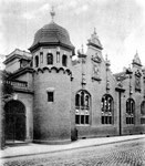 Turnhalle des Realgymnasiums an der Hundsgasse um 1910, Bildnummer: bbv_00019