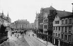 Em Höttche und Hotel zum Goldenen Stern (heute: Sternhotel), Fotografie von 1897, Bildnummer: bbv_00059