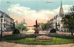 Kaiserplatz, Heliochromdruck um 1910, Bildnummer: bbv_00368