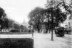 Poppelsdorfer Allee, Fotografie von 1904 Bildnummer: bbv_00116