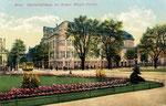 Ecke Poppelsdorfer Allee / Prinz-Albert-Straße mit Bürgerverein, Heliochromdruck um 1910, Bildnummer: bbv_00347