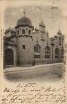 Turnhalle des Realgymnasiums an der Hundsgasse um 1910, Bildnummer: bbv_00870