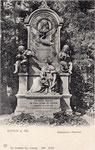 Schumann-Grabmal auf dem Alten Friedhof, um 1900, Bildnummer: bbv_01142