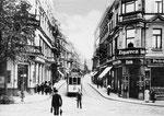 Poststraße um 1924, Bildnummer: bbv_00095