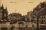 Marktplatz um 1900, Bildnummer: bbv_00607