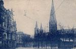 Münsterplatz um 1924, Bildnummer: bbv_00667