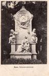 Schumann-Grabmal auf dem Alten Friedhof, um 1905, Bildnummer: bbv_01141
