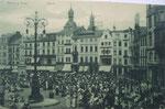 Marktplatz um 1900, Bildnummer: bbv_00620