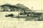 Fähre nach Königswinter, Fotografie von 1903, Bildnummer: bbv_00970