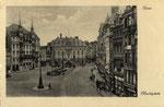Marktplatz um 1910, Bildnummer: bbv_00608