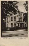 Evangelisches Hospiz an der Poppelsdorfer Allee um 1910, Bildnummer: bbv_00109