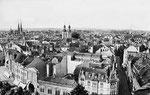 Remigiusstraße von oben, Fotografie um 1905, Bildnummer: bbv_00084