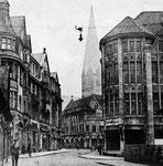 Gangolfstraße um 1924, Bildnummer: bbv_00107