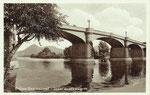 Bad Honnef, Brücke zur Insel Grafenwert, Fotografie um 1915, Bildnummer: bbv_01021