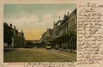 Bahnhofstraße, Heliochromdruck von 1902, Bildnummer: bbv_00194