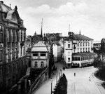 Ehem. Oberbergamt, jetzt Institut für Geschichtswissenschaft, um 1910, Bildnummer: bbv_00015