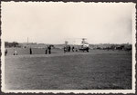 Brandereignis am Hubschrauberlandeplatz am Römerbad, Fotografie von 1950, Bildnummer: bbv_01210