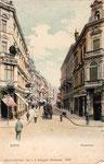 Poststraße, kolorierter Lichtdruck um 1900, Bildnummer: bbv_00441