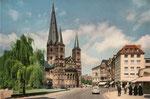 Martinsplatz um 1950, Bildnummer: bbv_01242