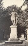 Ernst-Moritz-Arndt Denkmal auf dem Alten Zoll, Fotografie von 1891, Bildnummer: bbv_00037