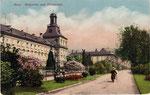 Hofgarten, Heliochromdruck um 1915, Bildnummer: bbv_00450