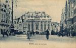 Marktplatz um 1920, Bildnummer: bbv_00610