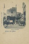 Das alte Sterntor vor dem Abriss, um 1898, Bildnummer: bbv_00851