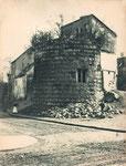 Stumpf des Halbrundturms, an den das Sterntor angebaut wurde, Fotografie um 1870, Bildnummer: bbv_00131