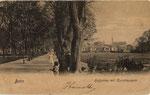 Hofgarten und Akademisches Kunstmuseum um 1903, Bildnummer: bbv_00491
