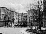 Alte Universitätsklinik (Frauenklinik) um 1905,  Bildnummer: bbv_00045