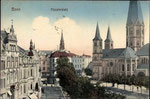 Münsterplatz, Heliochromdruck um 1910, Bildnummer: bbv_00658