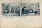 Das alte Sterntor vor dem Abriss, um 1895, Bildnummer: bbv_00852