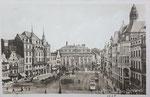 Marktplatz um 1910, Bildnummer: bbv_00621