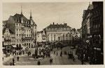 Marktplatz um 1910, Bildnummer: bbv_00602