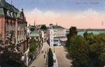 Hotel Rheineck, Heliochromdruck um 1905, Bildnummer: bbv_00420