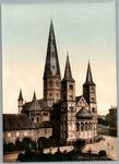 Münsterkirche, um 1890, Bildnummer: bbv_00915
