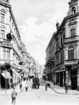 Poststraße um 1900, Bildnummer: bbv_00096