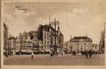 Marktplatz um 1900, Bildnummer: bbv_00604