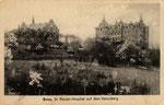 Marienhospital auf dem Venusberg um 1905, Bildnummer: bbv_00599