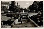 Kaiserplatz mit neuerbauter Fußgängerunterführung um 1937, Bildnummer: bbv_00517