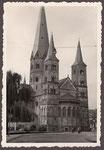 Münsterkirche, Fotografie 1950, Bildnummer: bbv_01197
