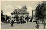 Münsterplatz um 1905, Bildnummer: bbv_00665