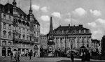 Marktplatz um 1910, Bildnummer: bbv_00619