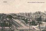Bahnhofstraße um 1900, Bildnummer: bbv_01115