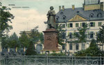 Beethovendenkmal, Heliochromdruck um 1910, Bildnummer: bbv_00464